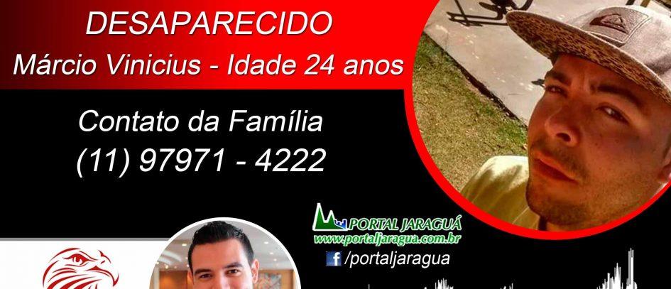 DESAPARECIDO - Márcio Vinicius