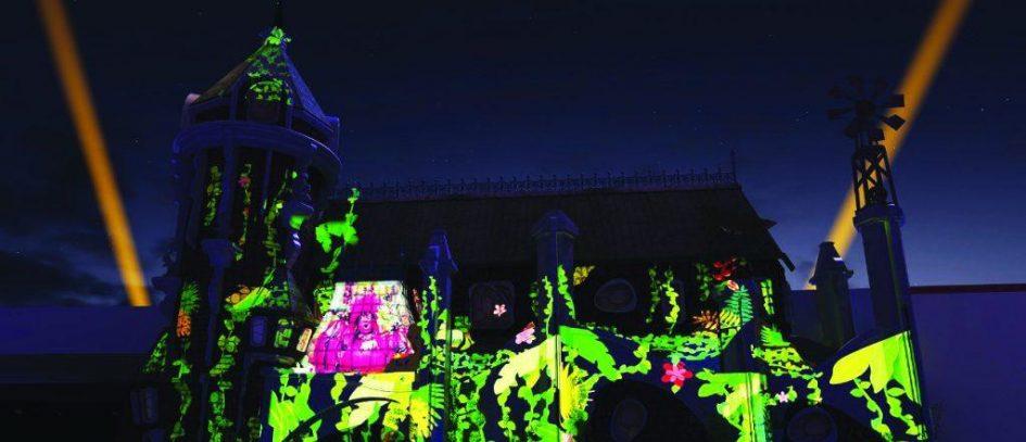 Rá-Tim-Bum, o Castelo ganha projeção com tecnologia inédita
