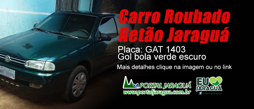 Carro Roubado - Retão 28/03/16 - GAT-1403