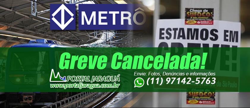 Greve do Metrô Cancelada - 24/05/2016