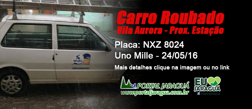 Uno Roubado na Vila Aurora (NXZ-8024) - 24/05/16