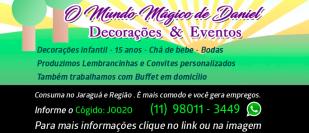 O Mundo Mágico de Daniel Decorações e Eventos