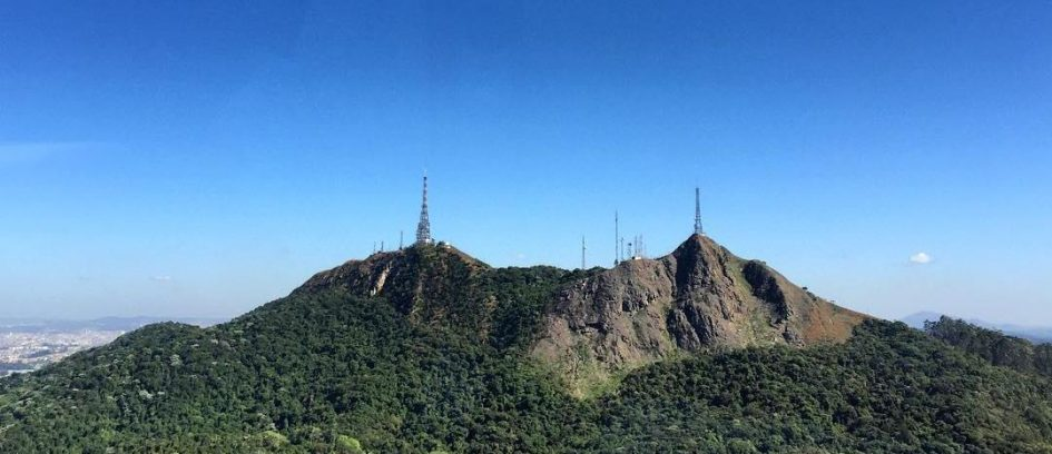 Ouro no Pico do Jaraguá