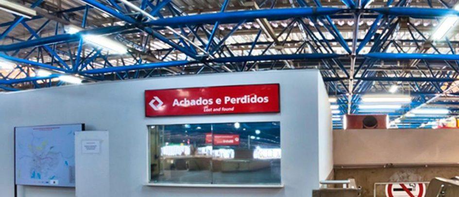 CPTM tem central de Achados e Perdidos na Barra Funda