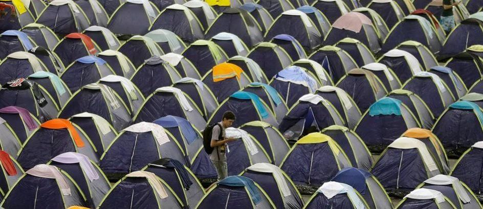 Barracas da Campus Party serão usadas por moradores de rua de SP após evento, diz Soninha
